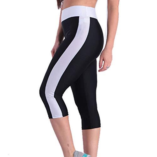 Damen Sporthose Sport leggings Tights Kurze/Lange geschnittene Baumwolle Leggings Komfortable Fitness Freizeithose Jogginghose Hose Sportswear Style