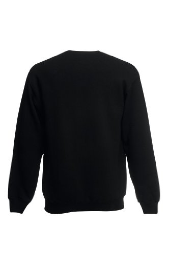 Set-In Sweatshirt L,Black - 2