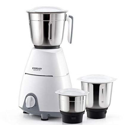 Eveready MG Moler Dx Mixer Grinder, White