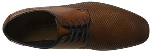 Rieker 10613, Derby Homme Marron (Amaretto/navy)
