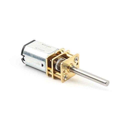 Windy5 30rpm-1000RPM 20mm Lange Achse N20 Getriebemotor Miniatur-DC 6V Verzögerung Motor für elektronische Schlösser Roboter