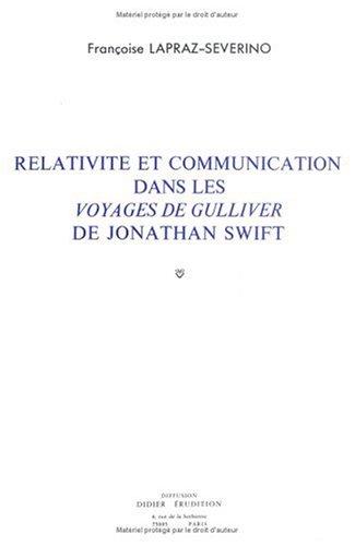 Relativité et communication dans les voyages par F. Lapraz Severino