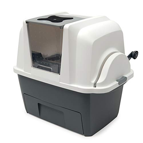 Catit 50685 Smartsift, Toilette per Gatti Autopulente, 67,6 x 49 x 47 cm, Multicolore
