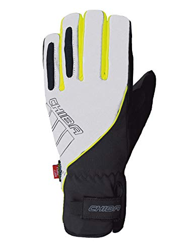 Chiba Reflex Pro Winter Fahrrad Handschuhe schwarz/weiß 2017: Größe: L (9)