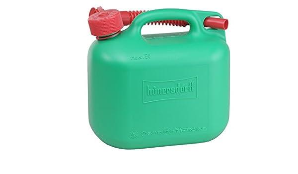 h/ünersdorff GmbH 811400 Nourrices /à Carburant Standard PE-HD Homologation Nu 5/L 5 l Noir