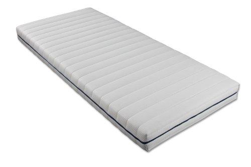 Traumnacht 03890460159 Orthopädische Kaltschaummatratze Härtegrad 3 (H3), 90 x 200 cm, weiß