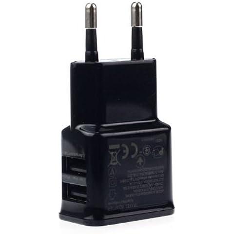USB caricatore a 2 porte - doppio adattatore spina UE