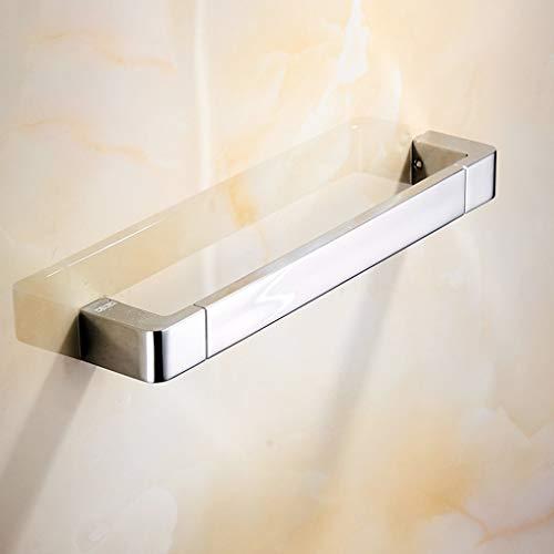Main Courante de Salle de Bains WC Toilettes cuivre Main Courante sans barrière Main Courante de sécurité (Noir) (Couleur : B)