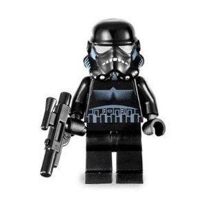 Shadow Trooper (Black) - LEGO Star Wars Figure by LEGO TOY (English (Star Wars Shadow Trooper)