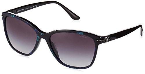Versace Unisex Sonnenbrille VE4290B, Gr. One size (Herstellergröße: 57), Mehrfarbig (Multicolor 51278G)