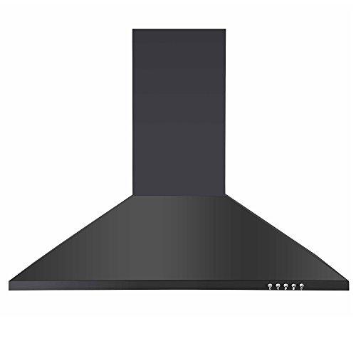 31VZYZx6cUL. SS500  - Cookology CH700BK 70cm Chimney Cooker Hood, Kitchen Extractor Fan in Black