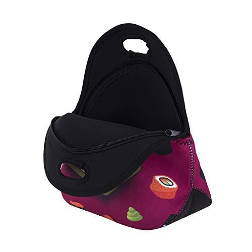 Aufbewahrungstasche,Rifuli® Thermisch isolierte Neopren Tote Lunch Bag Handtasche für Schularbeiten Picknick Camping Reisetasche Wäschebeutel Schuhbeutel Kosmetik