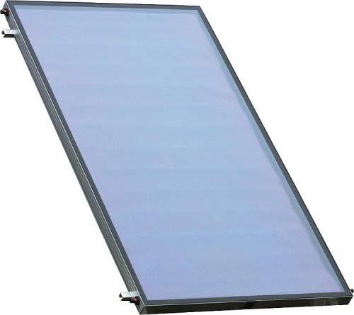 Sunex NX 2.50 Edelstahl Solaranlage Solarpaket, 1-5 Flachkollektoren Solaranlage Warmwasser Größe Solarpaket NX-2-7,59m²
