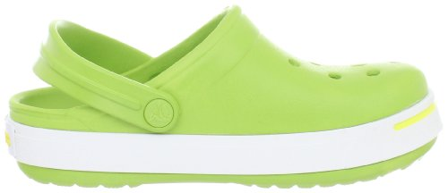 Crocs Crocband II - Zoccoli e sabot unisex Multicolore (Volt Green/Burst)