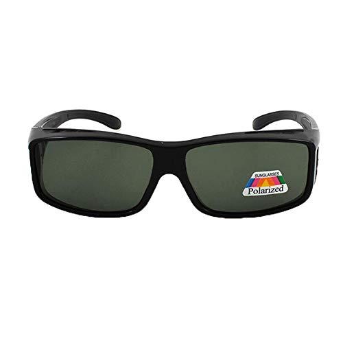 xinzhi Polarized Driving Sonnenbrillen, Radfahren Sonnenbrillen Retro Sonnenbrillen Unisex Goggles Faltbare Sonnenbrillen - Sand Black Frame