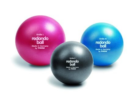 10 x Togu Redondo Ball Pilates Ball Gymanstik Yoga Fitness Therapie 22cm blau