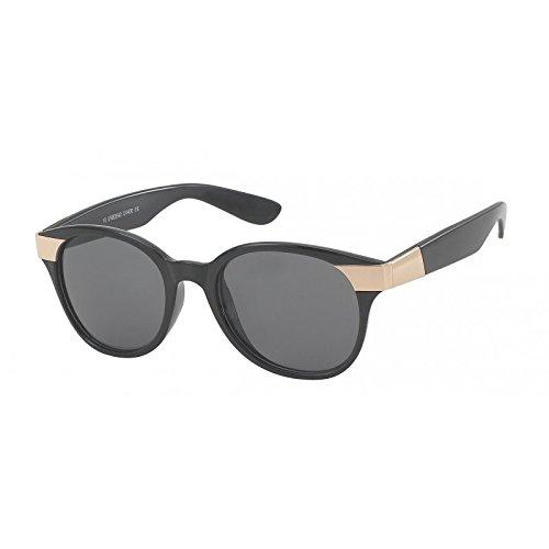 Verres teintés grand designer de lunettes de soleil charnière Chic-Net dames de style de zèbre Glamour 400UV brun à motifs DUyv2tHh