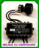 Régulateur de puissance 110 - 240 V/AC kit monté Kemo M012