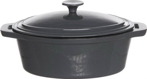 Cosy & Trendy 471845Bergerac Grey–Cazo (hierro fundido, 28x 1,5cm), color negro