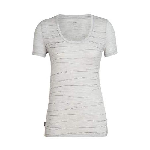 31VZgHrBnsL. SS500  - Icebreaker Women's Tech Lite Ss Scoop Lines Landscape T-Shirt