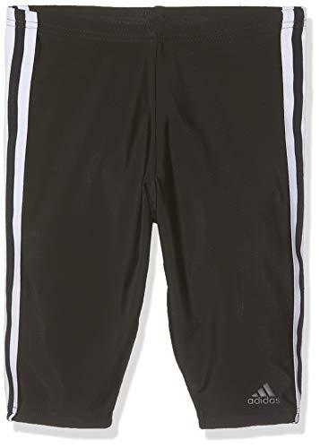adidas Jungen FIT Jam 3S Y Swimsuit, Black/White, 15-16Y