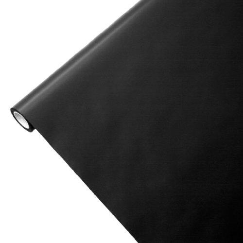 JUNOPAX 43710156 Geschenkpapier 50m x 0,75m schwarz -
