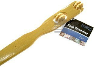 Essential Living 2-in-1 Back Scratcher & Massager...