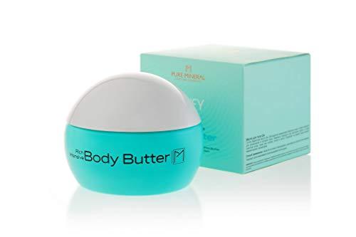 Körperbutter mit Totes Meer Mineralien, Sheabutter und Arganöl - 250 ml. | Body-Butter gegen trockene Haut | Körperpflege für Damen, Herren und Kinder | von PURE MINERAL -