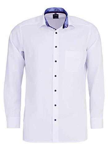 Olymp Herren Hemd Modern Fit Langarm Weiss (10) 42 -