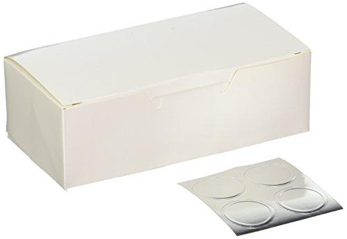 Favor Box-Wing Top-Perle weiß-12Stück