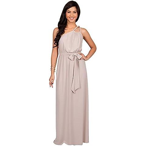 KOH KOH® La Mujer Vestido dama de honor coctel Vestido Maxi