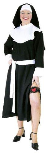 Karneval Kostüm Sexy Nonne Gr. 36 Kleid Nonnenkostüm (Schwester Nonne Kostüme)