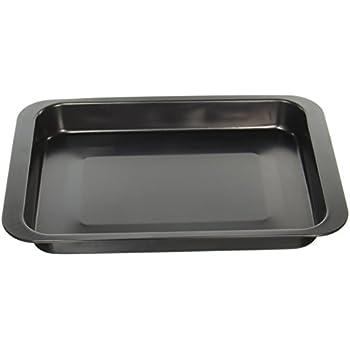 Okay Rectangular Bake and Roast Pan, Black
