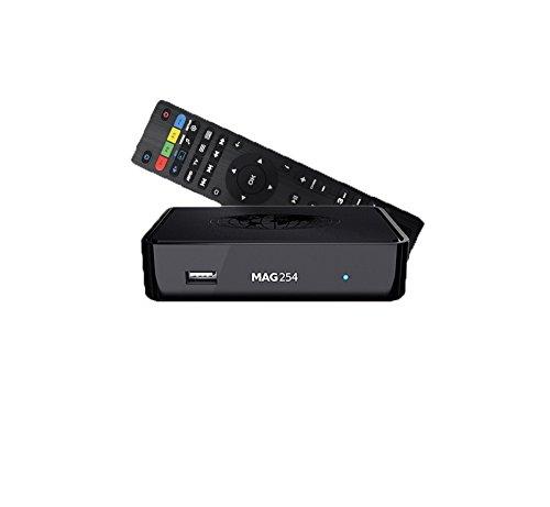 Infomir MAG 254 IPTV Multimedia Streamer HDMI USB FullHD 3D Größe HDMI Kabel + 5m Netzwerkkabel