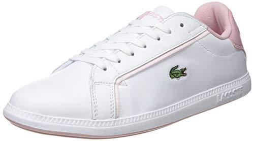 Lacoste Damen Graduate 119 1 SFA Sneaker, Weiß (Wht/Lt Pnk 1y9), 41 EU