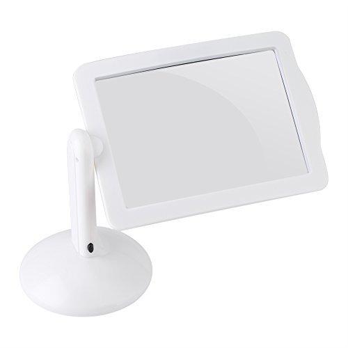 Jeffergarden 3-Fach LED-Bildschirm Leselupe 360° drehbar Lupe Nadel Arbeit Handwerk Detailarbeiten Haushalt Haushalt -