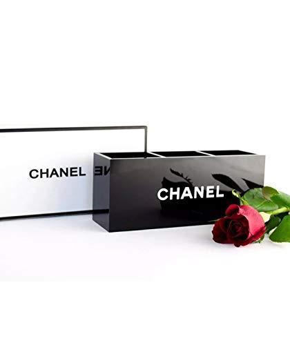 3 Fächer Schwarz Acryl Makeup Organizer Vanity Box Pinsel, Makeup Box - Vanity Box
