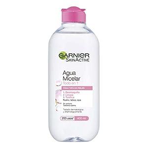 Garnier Agua micelar (todo tipo de pieles) – 400 ml.