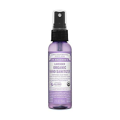 Dr. Bronner's - Spray désinfectant pour les mains à la lavende 60 ml