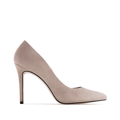 Andres Machado.DIANA.Talons Aiguille.Petites et Grandes pointures pour Femmes.32/35-42/45.MADE IN SPAIN Taupe