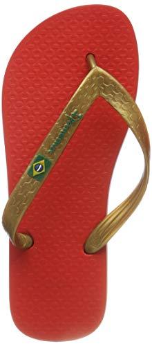 Ipanema Brasil Infradito Rosso Ciabatte Donna Mare Piscina 21240 37