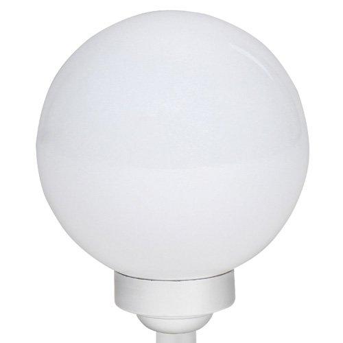 Solarlampe mit LEDs Gartenlampe wetterfest IP44 Kugelleuchte (Größenwahl) - 4