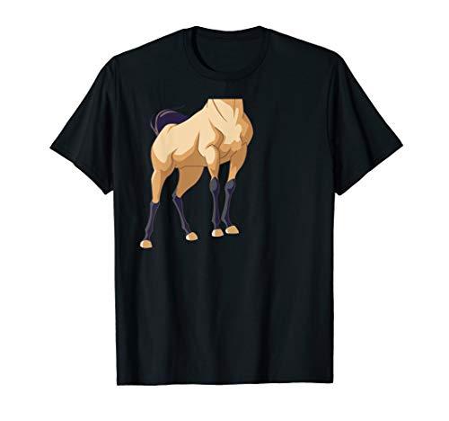 Halloween Pferd Körperkostüm für Kinder T-Shirt