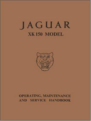 Jaguar Xk150 Op/maint/service (Manuale Maint)