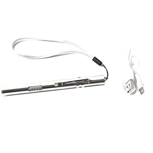 YY-865 Medical Surgical Notlicht wasserdichte Taschenlampe Reusable Feder-Licht-gelbe Licht-Fackel mit Carry-Seil - Einheitliche Medizinische