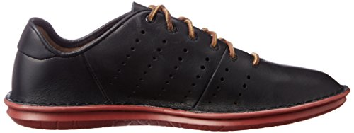 Clarks Tamho Race, Derby Homme Noir (Black Leather)