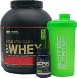 Die besten Optimum Nutrition Whey Proteinpulver - Optimum Nutrition 100% Whey Gold Standard (5lbs) Vanilla Bewertungen