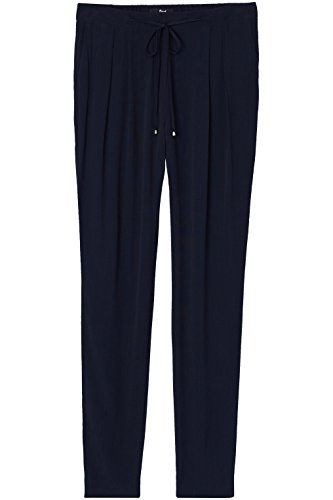FIND Pantalone Donna con Coulisse Blu (Navy)