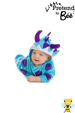 Kids Dinosaur Dragon Monster Fancy Dress Party Halloween Onesie Costume Babies Toddlers 12-18 Months by Pretend to (Bee Kostüme Halloween Baby)