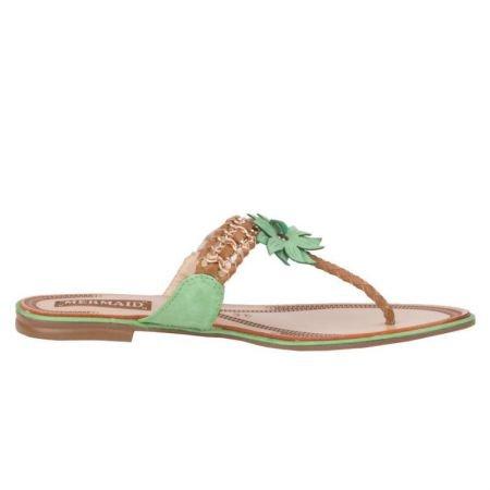 Mermaid femme-sandales pour femme Vert